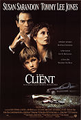 The Client 1994 poster Susan Sarandon Joel Schumacher