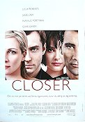 Closer 2004 poster Julia Roberts Mike Nichols