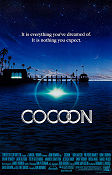 Cocoon 1985 poster Don Ameche Ron Howard