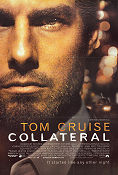 Collateral 2004 poster Tom Cruise Michael Mann