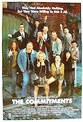 The Commitments Poster 68x102cm USA RO original