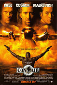 Con Air 1997 poster Nicolas Cage Simon West