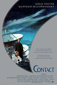 Contact 1997 poster Jodie Foster Robert Zemeckis
