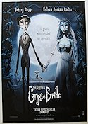 Corpse Bride 2005 poster Johnny Depp Tim Burton