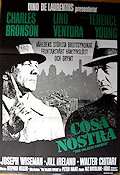 Cosa Nostra 1973 poster Charles Bronson Terence Young