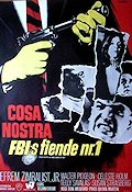 Cosa Nostra An Arch Enemy of FBI Poster 70x100cm NM original