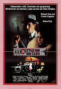 The Cotton Club 1984 poster Richard Gere Francis Ford Coppola