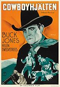 Cowboyhjälten 1937 poster Buck Jones