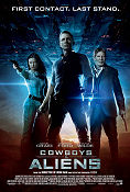 Cowboys and Aliens 2011 poster Daniel Craig Jon Favreau