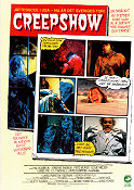 Creepshow 1982 poster Hal Holbrook George A Romero