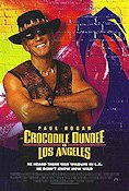 Crocodile Dundee in Los Angeles 2001 poster Paul Hogan