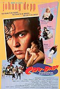 Cry-Baby 1990 poster Johnny Depp John Waters
