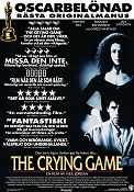 The Crying Game 1990 poster Stephen Rea Neil Jordan