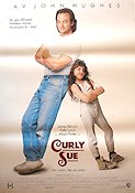 Curly Sue 1991 poster James Belushi John Hughes