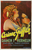 Damen i hermelin 1927 poster Corinne Griffith James Flood
