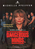 Dangerous Minds 1995 poster Michelle Pfeiffer