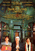 The Darjeeling Limited 2007 poster Owen Wilson Wes Anderson