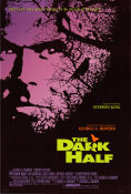 The Dark Half 1993 poster Timothy Hutton George A Romero