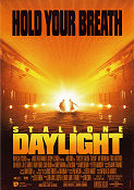 Daylight 1996 poster Sylvester Stallone