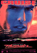 Days of Thunder 1990 poster Tom Cruise