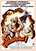 De fantastiska 7 1979 poster Christopher Connelly John Peyser
