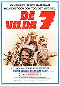 De vilda 7 1972 poster William Holden