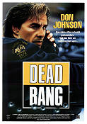 Dead Bang 1989 poster Don Johnson