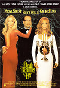 Death Becomes Her 1992 poster Goldie Hawn Robert Zemeckis