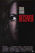 Deceived 1991 poster Goldie Hawn Damian Harris
