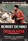 The Deer Hunter (mini) 1979 poster Robert De Niro Michael Cimino