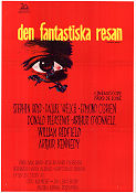 Den fantastiska resan 1966 poster Raquel Welch Richard Fleischer