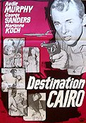 Destination Cairo 1967 poster Audie Murphy