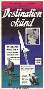 Destination okänd 1956 poster William Holden Mervyn LeRoy