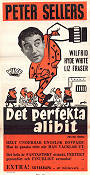 Det perfekta alibit 1960 poster Peter Sellers Robert Day