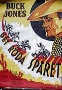 Det röda spåret 1938 poster Buck Jones