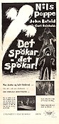 Det sp�kar det sp�kar Poster 30x70cm NM original