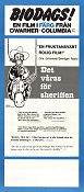 Det våras för sheriffen 1974 poster Cleavon Little Mel Brooks
