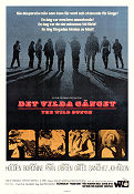 Det vilda gänget 1969 poster William Holden Sam Peckinpah