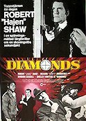 Diamonds 1976 poster Robert Shaw