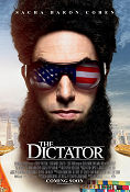 The Dictator 2012 poster Sacha Baron Cohen Larry Charles