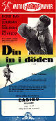 Din in i döden 1957 poster Doris Day