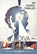 Diva 1984 poster Frederic Andrei Jean-Jacques Beineix
