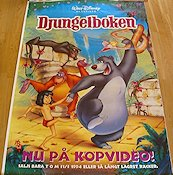 Djungelboken Poster GD video 112x160 original