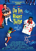 Do the Right Thing 1989 poster Danny Aiello Spike Lee
