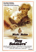 Dog Soldiers 1978 poster Nick Nolte Karel Reisz