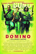 Domino 2005 poster Keira Knightley Tony Scott