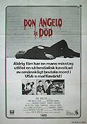 Don Angelo är död 1974 poster Anthony Quinn