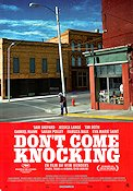 Don't Come Knocking Poster 70x100cm RO original