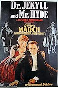 Dr Jekyll and Mr Hyde Poster 70x100cm reproduction RO