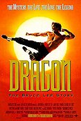Dragon the Bruce Lee Story 1993 poster Jason Scott Lee